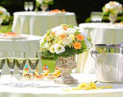 Заказ свадебного фуршета или банкета: преимущества